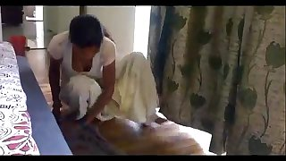Desi Maid Cleavage show during mopping