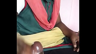Indian maid daughter doing hand job.MOV