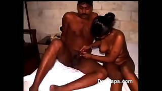 Dark Skin Horny Wife Pussy Nailed Hard